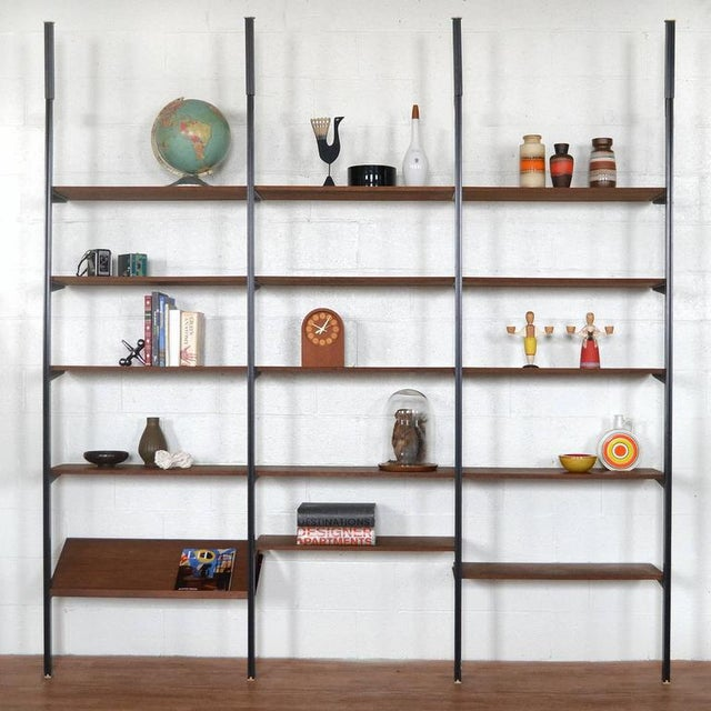 Mid-Century Modern George Nelson Omni Shelving Unit For Sale - Image 3 of 11