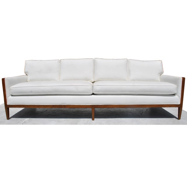 1960s Vintage Restored Stow Davis Sofa For Sale - Image 5 of 12