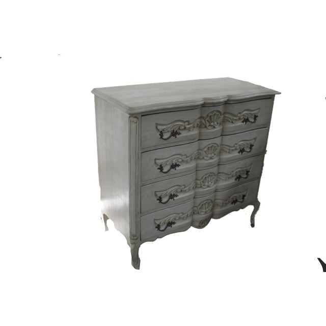 Early 20th Century 20th Century Vintage French Baroque Style Chest For Sale - Image 5 of 7