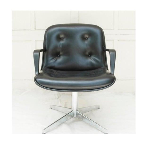 Mid-Century Modern Charles Pollock Style Executive Chair by Steelcase - Image 2 of 5
