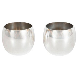 Mid-Century Modern Salt and Pepper Cellars by Tiffany & Co. For Sale