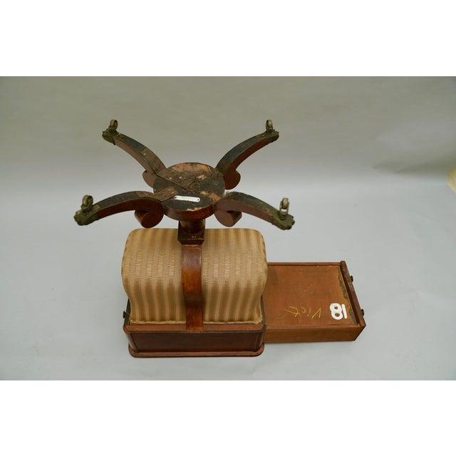 Circa 1820 Regency Amboyna Wood Worktable For Sale - Image 10 of 11