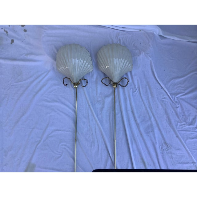 Chapman Shell Sconces, a Pair For Sale - Image 13 of 13