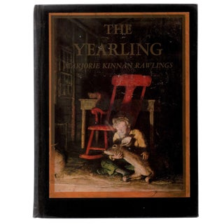 "1940 ""The Yearling, Illustrated by N. C. Wyeth"" Collectible Book For Sale"