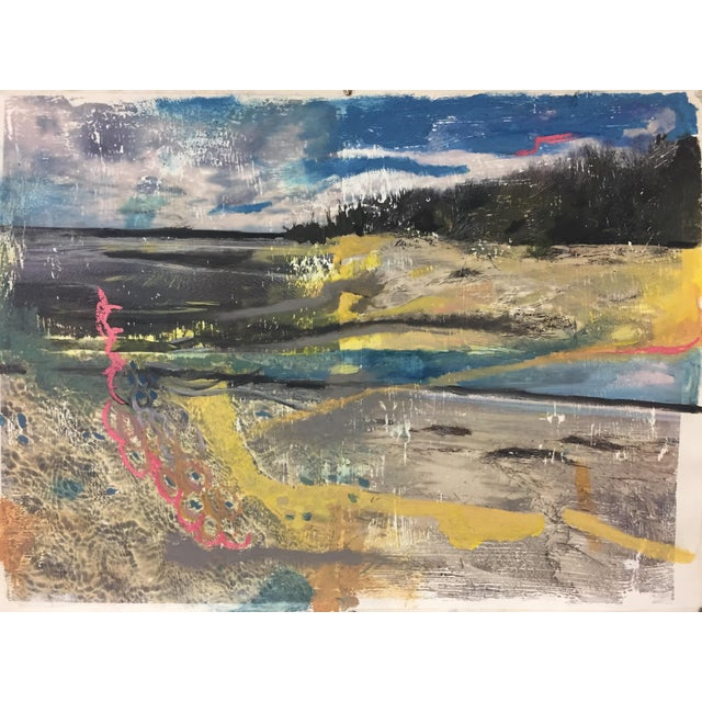 """Coastal View"" Painting - Image 1 of 4"