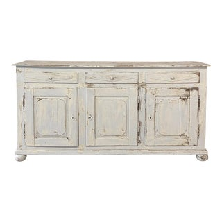 French Buffet, Directoire Period in Painted Finish For Sale