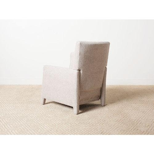 Verellen Contemporary Verellen Tan Wool Upholstered Alois Recliner For Sale - Image 4 of 7