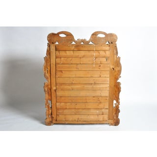 19th Century Italian Mirror With Carved Scroll-Work Preview