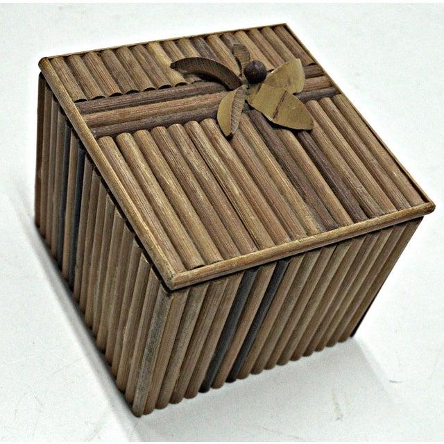 Rustic Wooden Stick Cigarette Box - Image 2 of 9