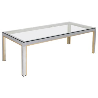 Italian Vintage Romeo Rega Coffee Table For Sale