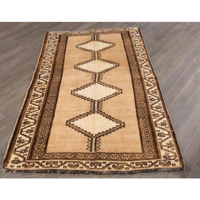 "Apadana Persian Shiraz Rug - 3'4"" X 6'2"" - Image 5 of 7"