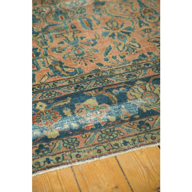 "Antique Distressed Lilihan Carpet - 9' x 11'1"" - Image 10 of 10"