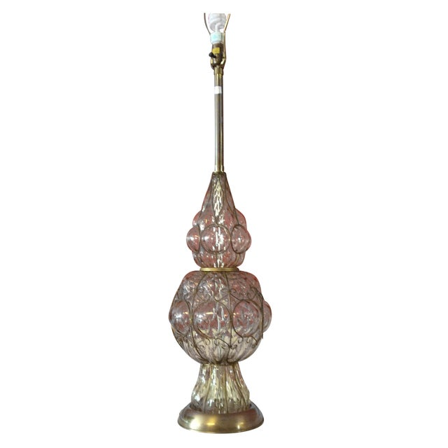 Murano Glass Lamp by Marbro Lamp Company - Image 1 of 6
