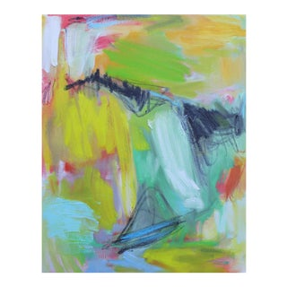 """Abstract Oil Painting by Trixie Pitts """"High Atlas"""""""