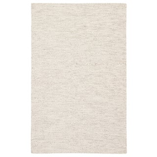 Jaipur Living Bramble Handmade Trellis Ivory/ Gray Area Rug - 5′ × 8′ For Sale