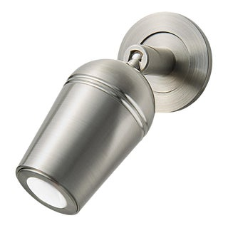 Brushed Nickel Led Groove Wall Lighting For Sale