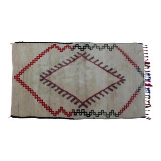 Moroccan Rug - 6'3'' X 3'6'' For Sale