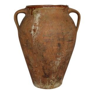 Early 19th c./Early 20th c. Terracotta Italian Oilve Jar c. 1810-1910