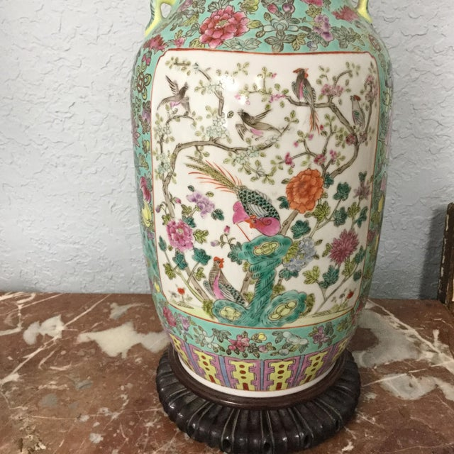 19th Century Chinese Export Vase For Sale - Image 4 of 10