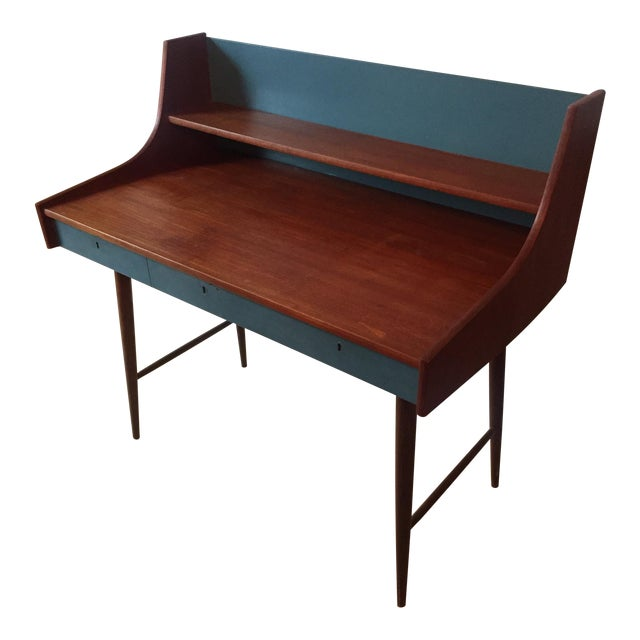 Mid-Century Danish Writing Desk - Image 1 of 9
