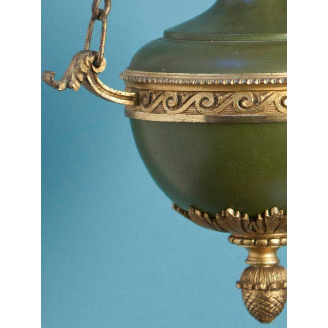 Empire-Style Hall Lantern from France, circa 1910 - Image 4 of 6