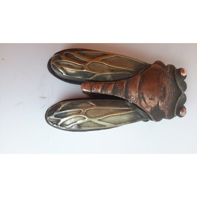 Vintage Chinese Caligraph Cicada Inkwell - Image 4 of 4