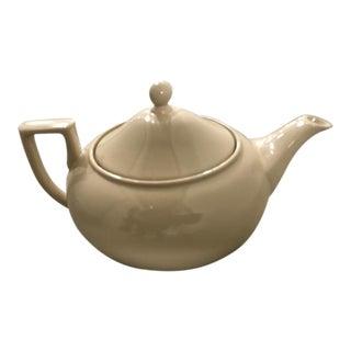 Wedgewood Drabware Beige Teapot