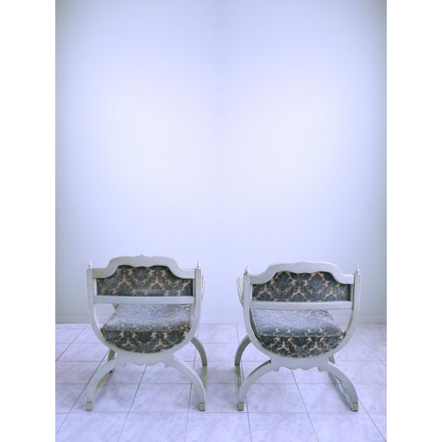 Louis XVI Provincial Chairs - A Pair For Sale - Image 4 of 12