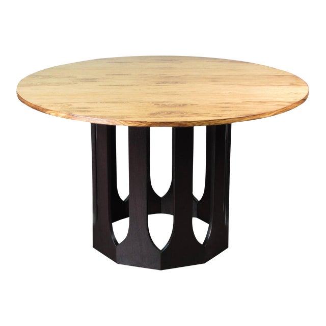 Harvey Probber Bleached Rosewood & Mahogany Dinette Table - Image 1 of 6