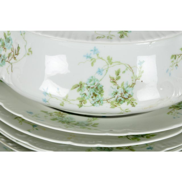 Late 19th Century France Limoges Porcelain Dinner Service - 73 Pieces For Sale - Image 5 of 6