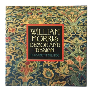 William Morris-Decor & Design Book-Abrams Publishing For Sale