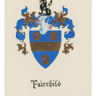 """""""Fairchild Coat-Of-Arms"""" Preview"""