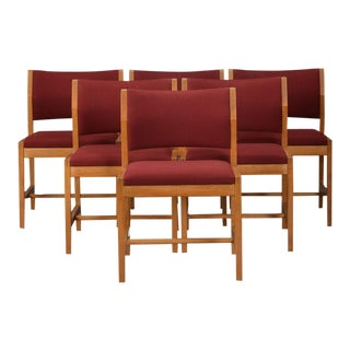 Borge Mogensen Model 3241 Dining Chairs, 1970s - Set of 6