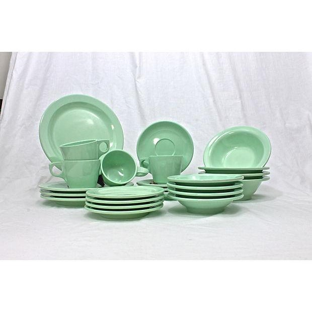 Contemporary Vintage Boontonware Dinnerware - Set of 4 For Sale - Image 3 of 9