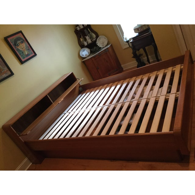 Teak Queen Bed Frame - Image 5 of 11