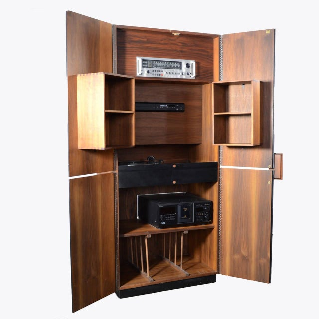 Richard Thompson Stereo Cabinet or Bar by Glenn of California For Sale - Image 11 of 11