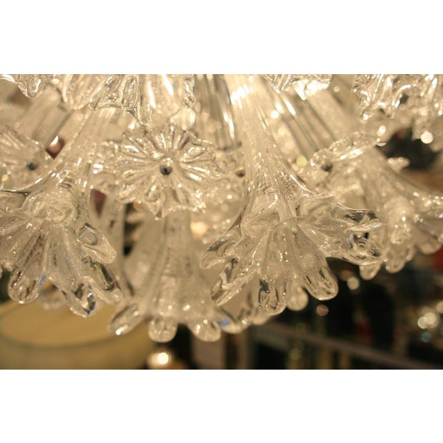 1980s Espirit Glass Ceiling Light - A Pair For Sale - Image 5 of 5