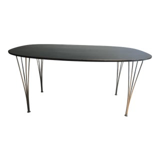 1970s Contemporary Piet Hein and Bruno Mathsson for Fritz Hansen Dining Table For Sale