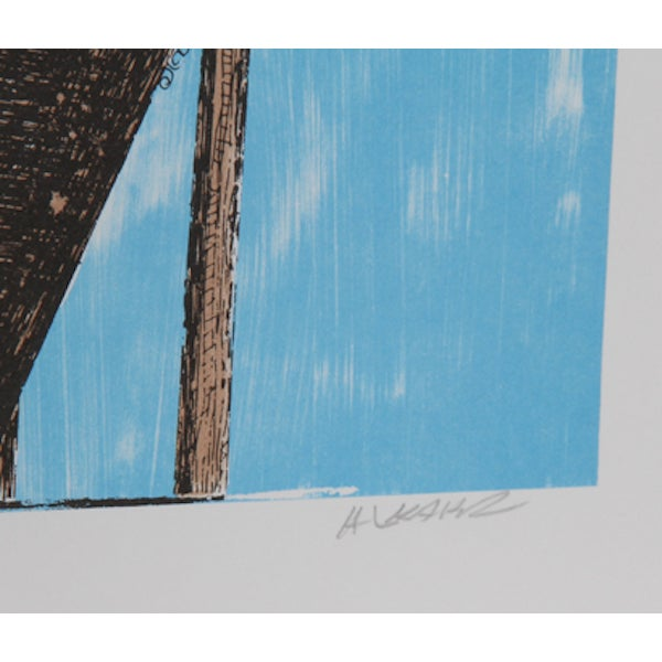 Artist: Ovadia Alkara, Israeli (1939 - ) Title: Bouquet Medium: Lithograph, signed and numbered in pencil Edition: 325...