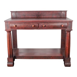 Royal Furniture Regency Mahogany Sideboard For Sale
