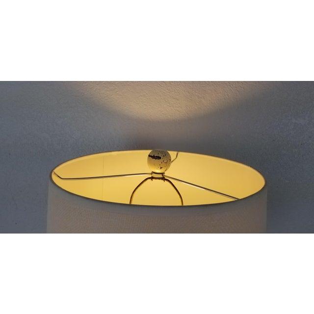 Plaster Postmodern Geometric Plaster Decorative Table Lamp For Sale - Image 7 of 9