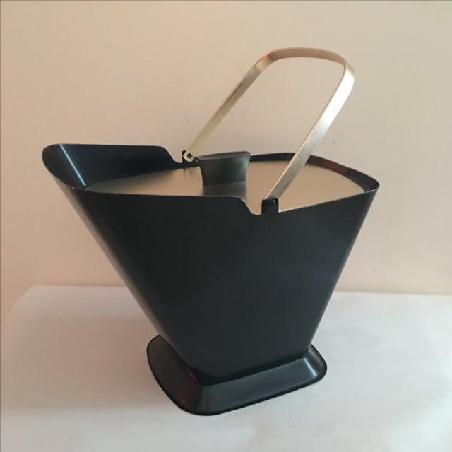 West Bend Retro Black & Gold Ice Bucket - Image 2 of 9