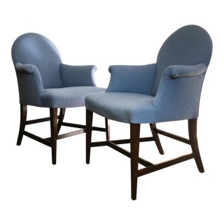 Vintage Saybolt Cleland Upholstered Armchairs - a Pair For Sale