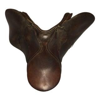 English Brown Leather Saddle