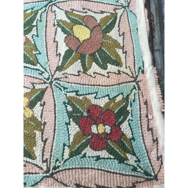 Treasure Chest Mutual Hand-Hooked Rug - 9' x 12' For Sale - Image 10 of 11