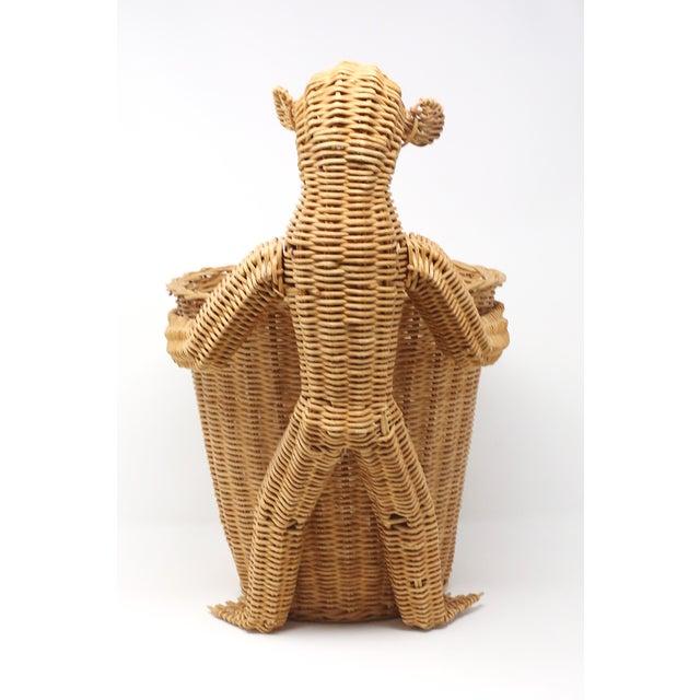 Mario Lopez Torres Mario Lopez Torres Monkey Waste Basket or Trash Can For Sale - Image 4 of 9