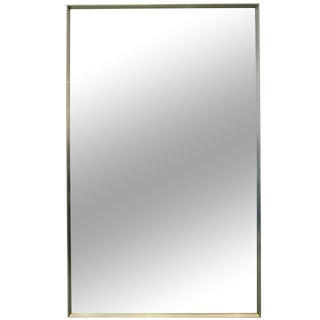 Minimalist Stainless Steel Mirror For Sale