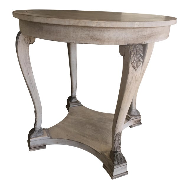 Kindel Oak Side Table - Image 1 of 8