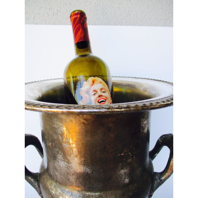 French Bistro Champagne Wine Ice Bucket Trophy - Image 8 of 8