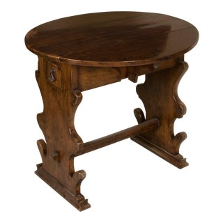 Italian Renaissance Walnut Table For Sale